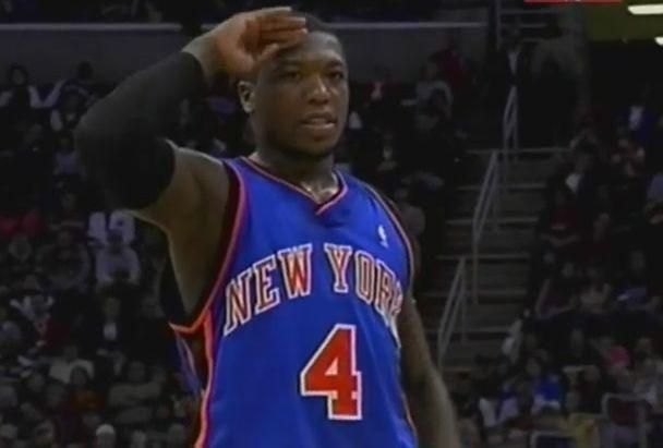 NBA球星帅气敬礼POSE图片