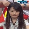 中国队场边的漂亮妹子