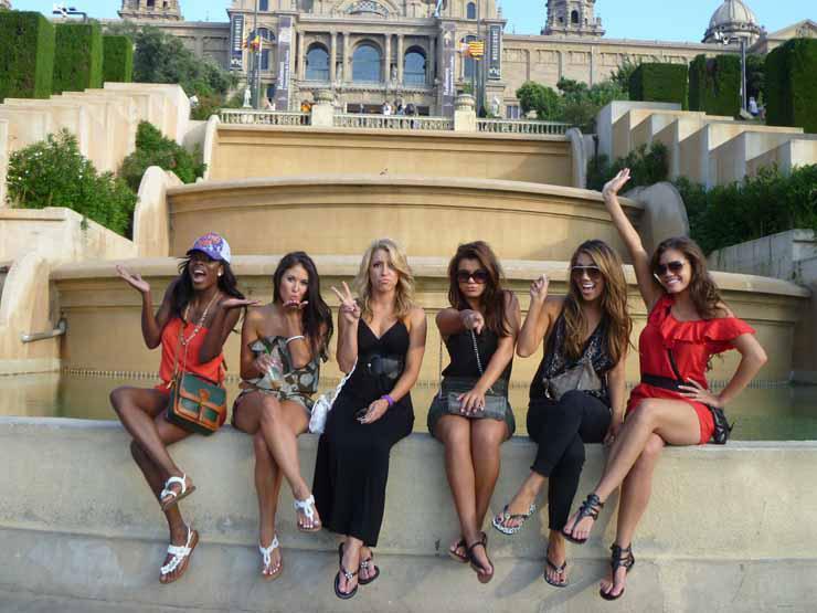 以下则是在巴塞罗那拍摄的图片