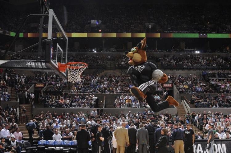 NBA吉祥物图片