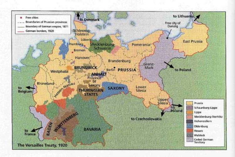 战后的德国版图 7人推荐 我要推荐