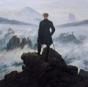 雾海中的旅人
